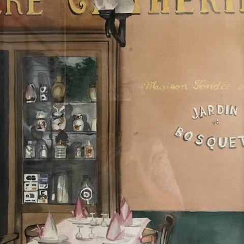 La mère Catherine. Montmartre