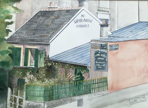 Le lapin Agile.Montmartre