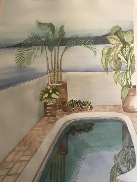 La piscine. Mexico