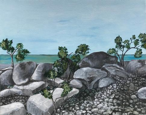 Variation 1 sur le thème roches et eau