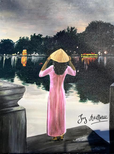 Jeune Vietnamienne.