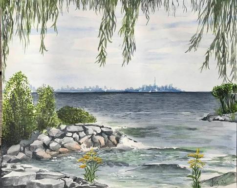 L'automne est arrivée- Lac Ontario