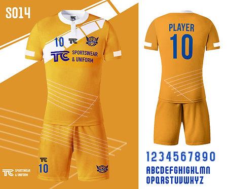 Football / Soccer Jersey 足球衫 (Design Template 參考設計 S014)