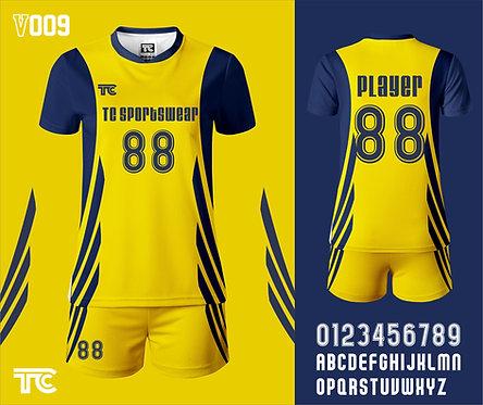 Volleyball Jersey 排球衫 (Design Template 參考設計 V009)