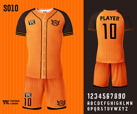 Football / Soccer Jersey 足球衫 (Design Template 參考設計 S010)