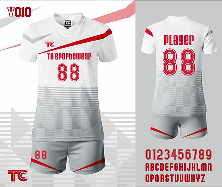 Volleyball Jersey 排球衫 (Design Template 參考設計 V010)