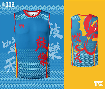 Dragon Boat Singlet 龍舟衫 (Design Template 參考設計 D002)