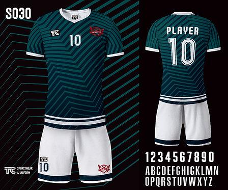 Football / Soccer Jersey 足球衫 (Design Template 參考設計 S030)