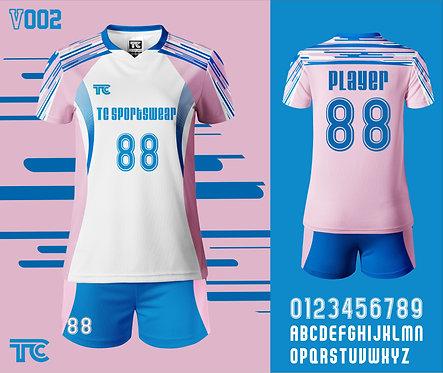 Volleyball Jersey 排球衫 (Design Template 參考設計 V002)