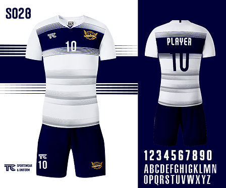 Football / Soccer Jersey 足球衫 (Design Template 參考設計 S028)