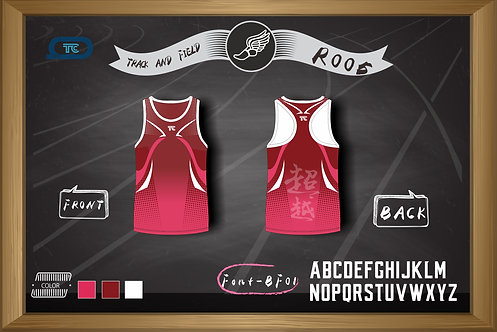 Track and Field / Running Singlet 跑步衫 (Design Template 參考設計 R005)
