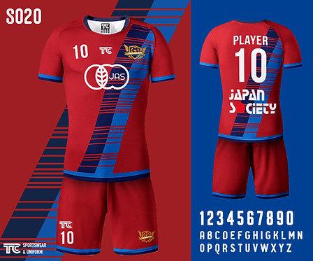 Football / Soccer Jersey 足球衫 (Design Template 參考設計 S020)