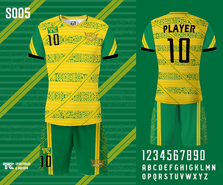 Football / Soccer Jersey 足球衫 (Design Template 參考設計 S005)