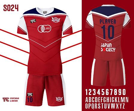 Football / Soccer Jersey 足球衫 (Design Template 參考設計 S024)