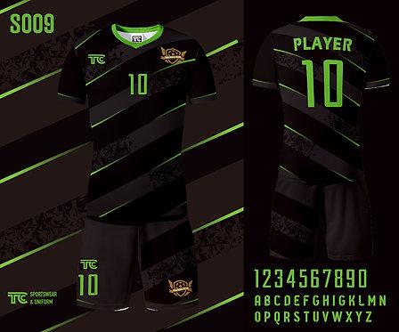 Football / Soccer Jersey 足球衫 (Design Template 參考設計 S009)
