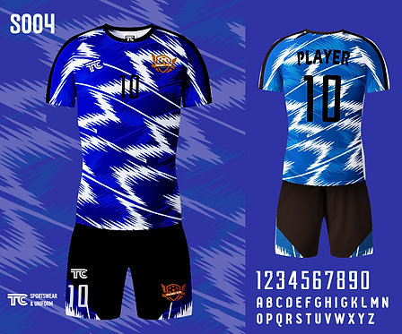 Football / Soccer Jersey 足球衫 (Design Template 參考設計 S004)