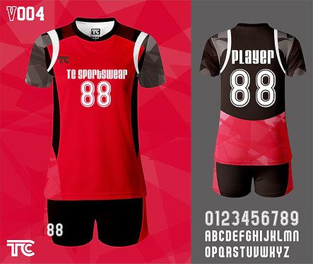 Volleyball Jersey 排球衫 (Design Template 參考設計 V004)