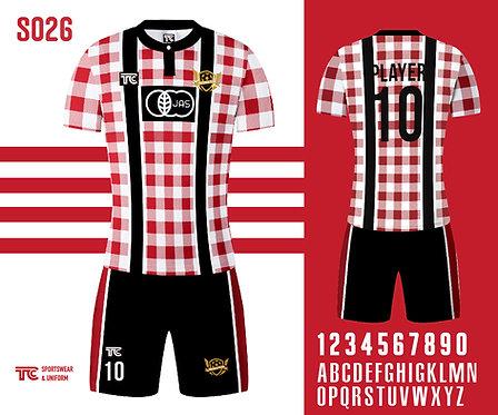 Football / Soccer Jersey 足球衫 (Design Template 參考設計 S026)