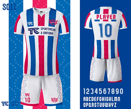 Football / Soccer Jersey 足球衫 (Design Template 參考設計 S011)