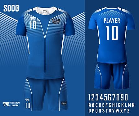 Football / Soccer Jersey 足球衫 (Design Template 參考設計 S008)