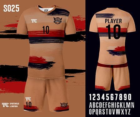 Football / Soccer Jersey 足球衫 (Design Template 參考設計 S025)