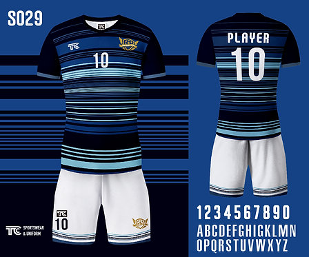 Football / Soccer Jersey 足球衫 (Design Template 參考設計 S029) ft. MC Cindy