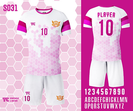 Football / Soccer Jersey 足球衫 (Design Template 參考設計 S031)