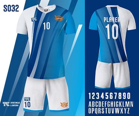 Football / Soccer Jersey 足球衫 (Design Template 參考設計 S032)