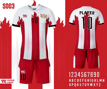 Football / Soccer Jersey 足球衫 (Design Template 參考設計 S003)