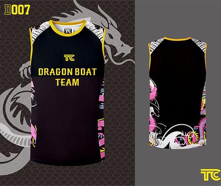Dragon Boat Singlet 龍舟衫 (Design Template 參考設計 D007)