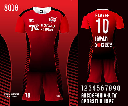 Football / Soccer Jersey 足球衫 (Design Template 參考設計 S018)