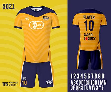 Football / Soccer Jersey 足球衫 (Design Template 參考設計 S021)