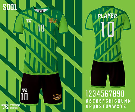 Football / Soccer Jersey 足球衫 (Design Template 參考設計 S001)