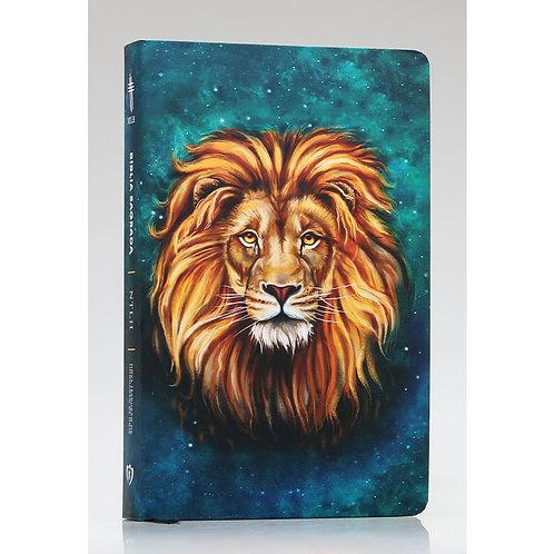 Bíblia Sagrada | NTLH | Letra Grande | Soft Touch | Leão Aslam