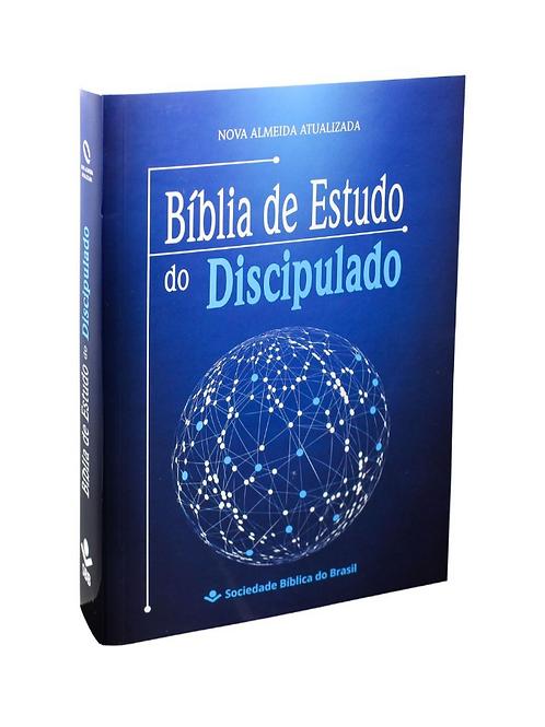 Bíblia de Estudo e Discipulado ( Brochura)
