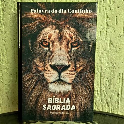 Bíblia Palavra do dia Coutinho ( Leão Black)