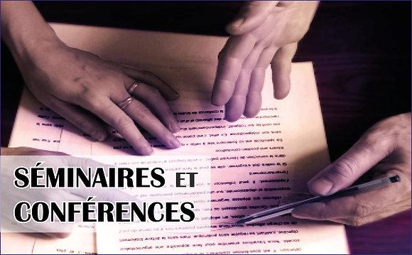 Journée création littéraire. Conférences et interventions