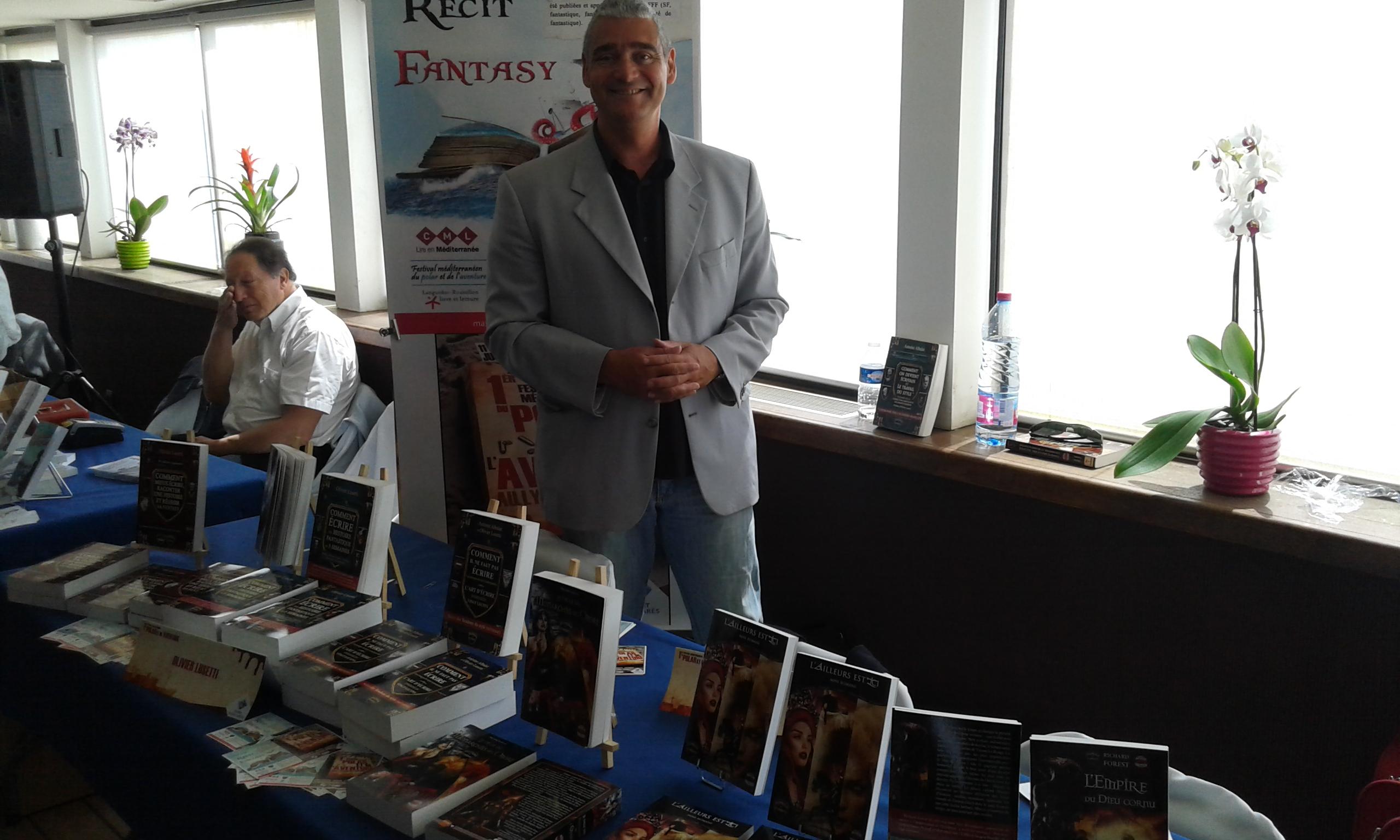 Olivier Lusetti conseiller littérair