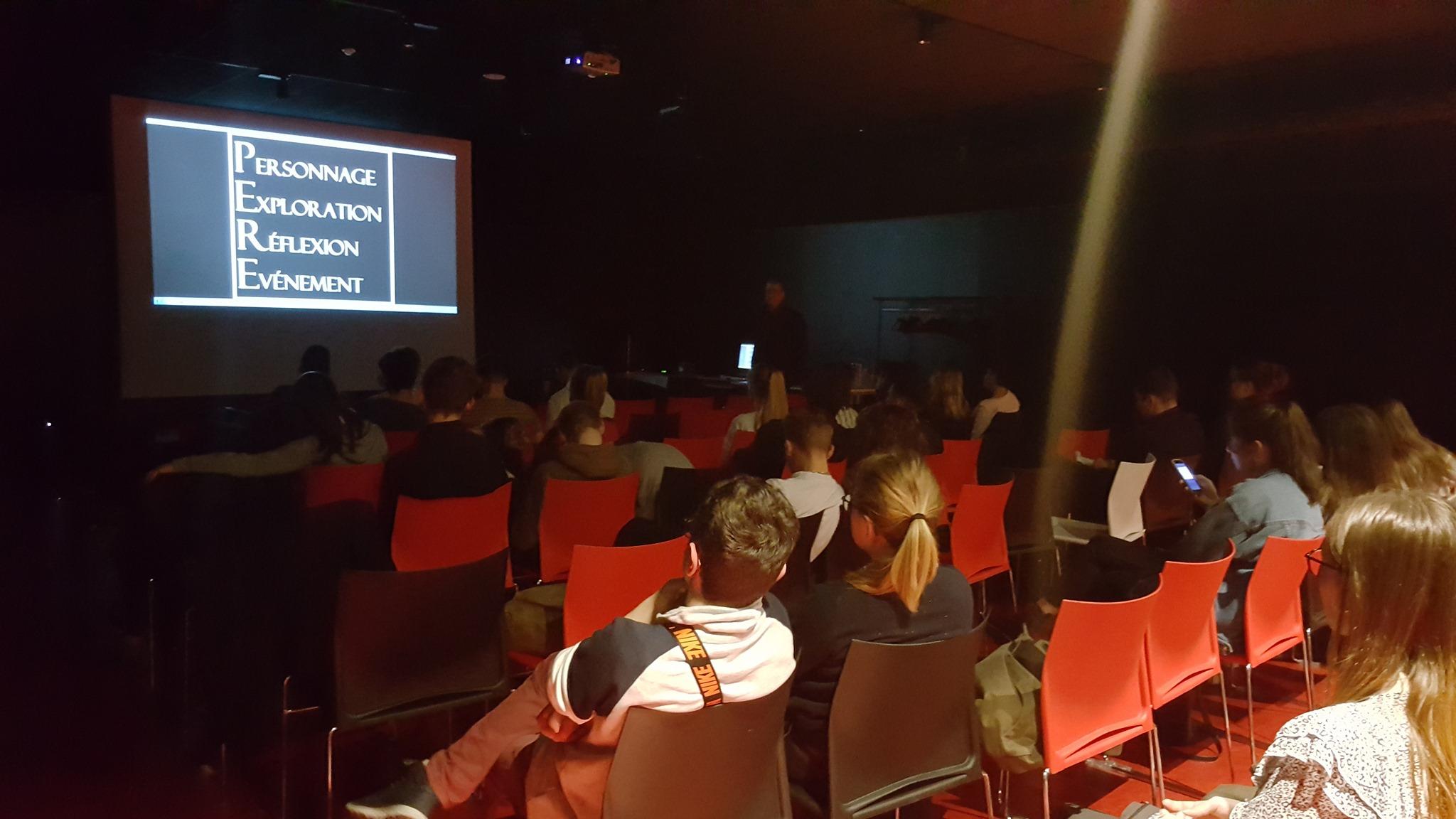 Projection court métrage dans lycées