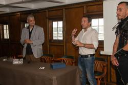 Lauréats Sylvain Morel et. Sanchez
