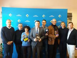 Le jury du Prix Méditerranée Polar