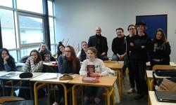 Classe souriante du lycée Mirecourt