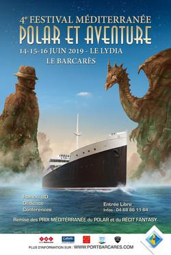 Affiche Festival Mediterranée Polar