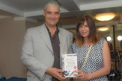 Conférence O.Lusetti et sa compagne