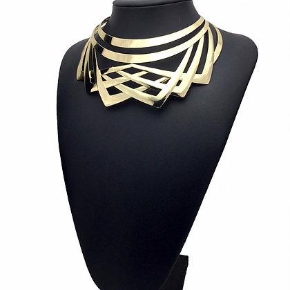 Geometric Collar Statement Necklace