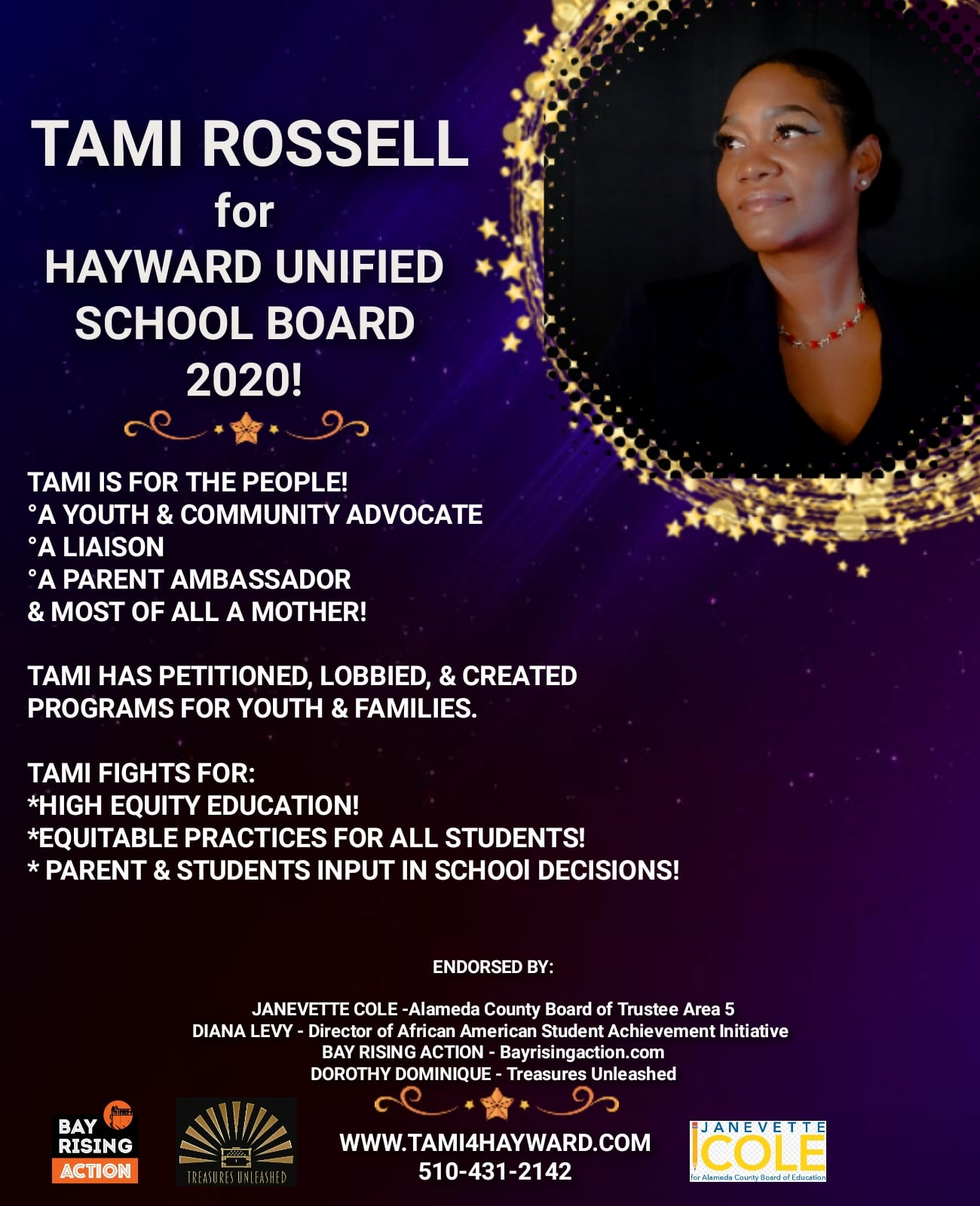 Tami Rossell Campaign Flyer Photoshoot!