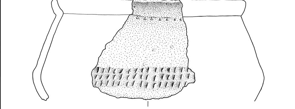 Bronzezeitliche Scherbe 1