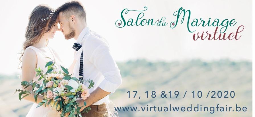 Un salon du Mariage Virtuel - Een virtuele trouwbeurs.