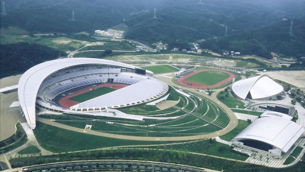 Estadio Miyagi, escenario de debut de Brasil