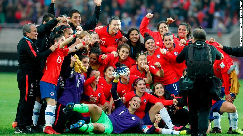 Chile - La Roja femenina